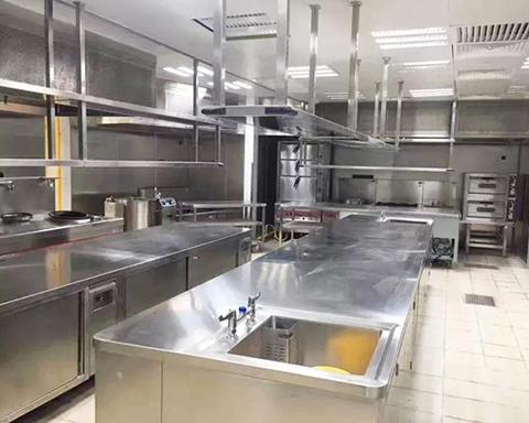 东营校区厨房环境展示