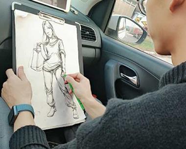 威海美术培训机构分析色彩考试应注意的方面