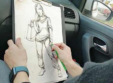 山东水木源画室总结高考美术中速写常见的问题有哪些?